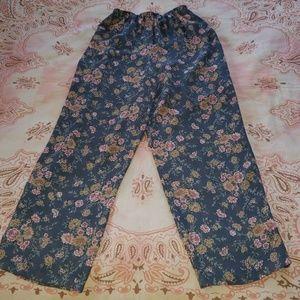 Vintage Express Flowery Pants